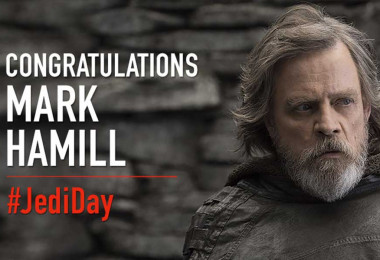 Mark Hamill on Jedi Day