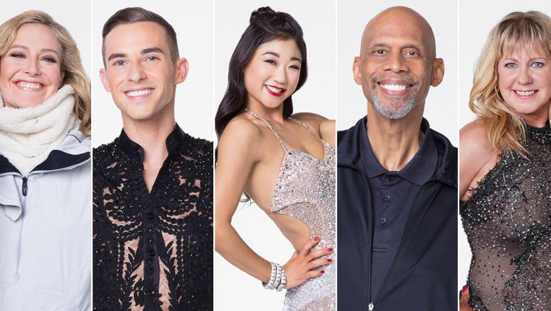 dancing with the stars athletes edition cast