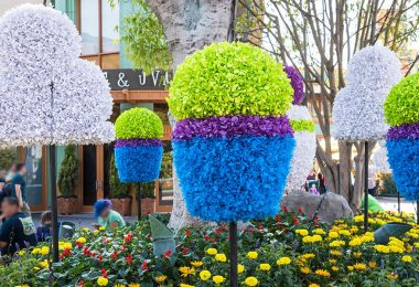 Pixar Fest Topiaries
