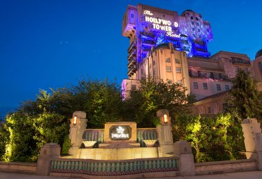 Twilight Zone Tower of Terror Disneyland Paris
