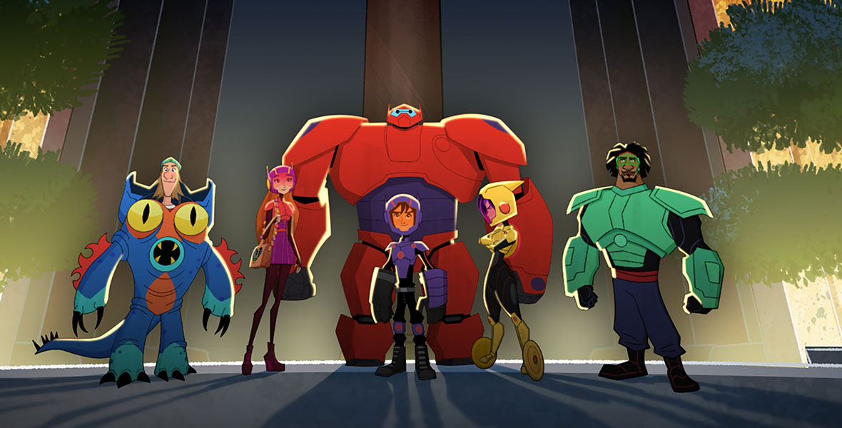 Mark Your Calendar Now Big Hero 6 The Series Launches Saturday June 9 D23