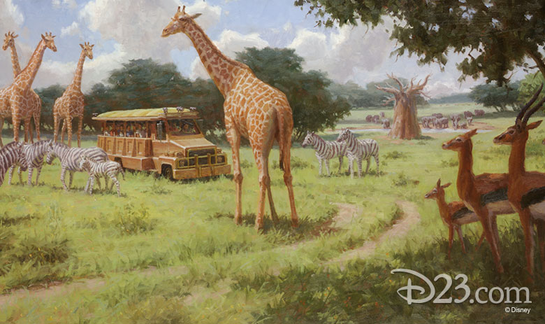 Animal Kingdom concept art
