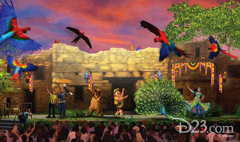 Disney's Animal Kingdom Up show
