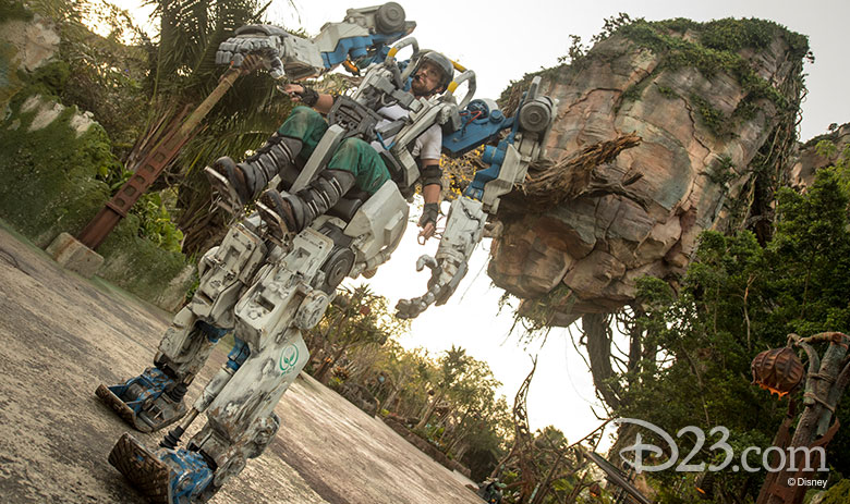 Disney's Animal Kingdom Pandora Utility Suit