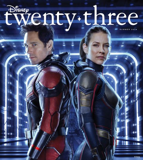 Summer 2018 Disney twenty-three cover - Ant-Man and the Wasp