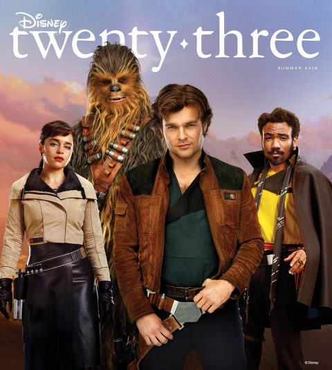 Disney twenty-three Summer 2018 Solo cover