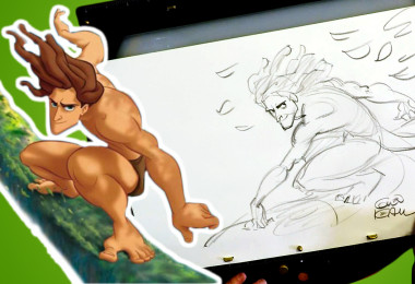How to Draw Tarzan with Disney Legend Glen Keane | Drawing with D23
