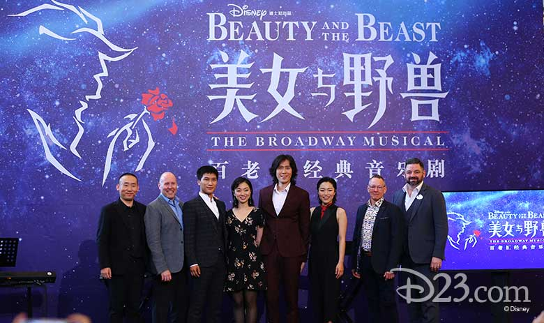 Beauty and the Beast Shanghai Disneyland