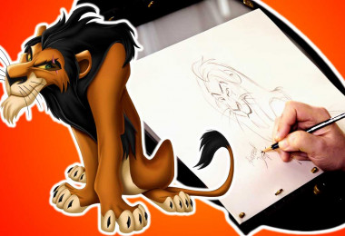 How to Draw Scar with Disney Legend Andreas Deja | Drawing with D23