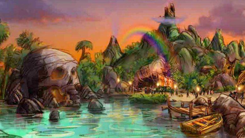 Tokyo DisneySea expansion concept art