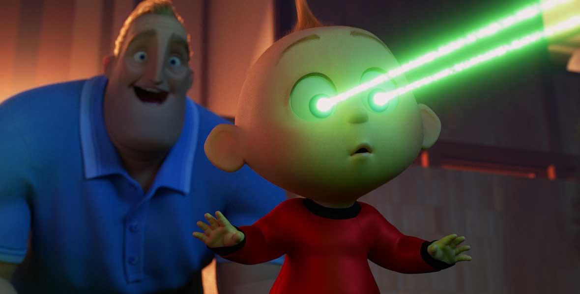 Yeah Baby Jack Jack Gets Super In Incredibles 2 D23