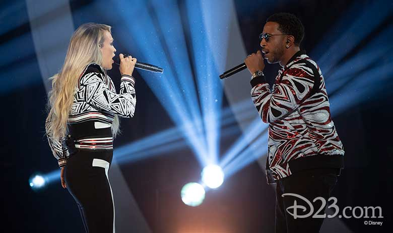 Carrie Underwood and Ludacris Radio Disney Music Awards 2018