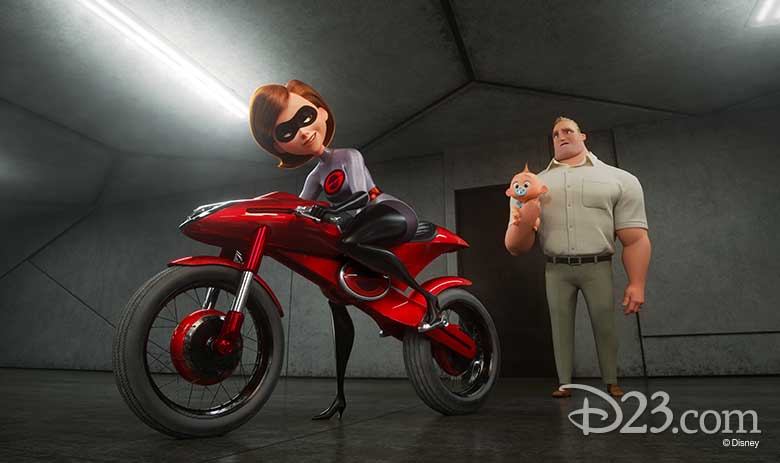 Elastigirl and Mr. Incredible