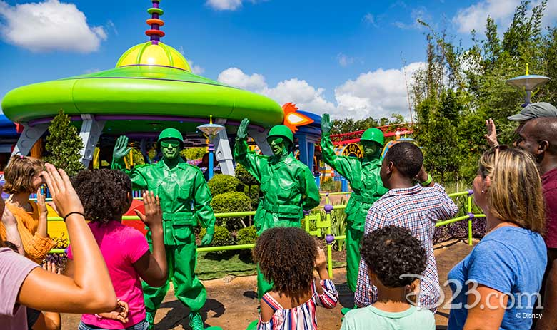 Everything We Loved About Toy Story Land D23
