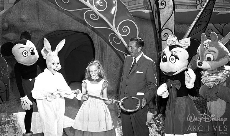 Alice in Wonderland at Disneyland