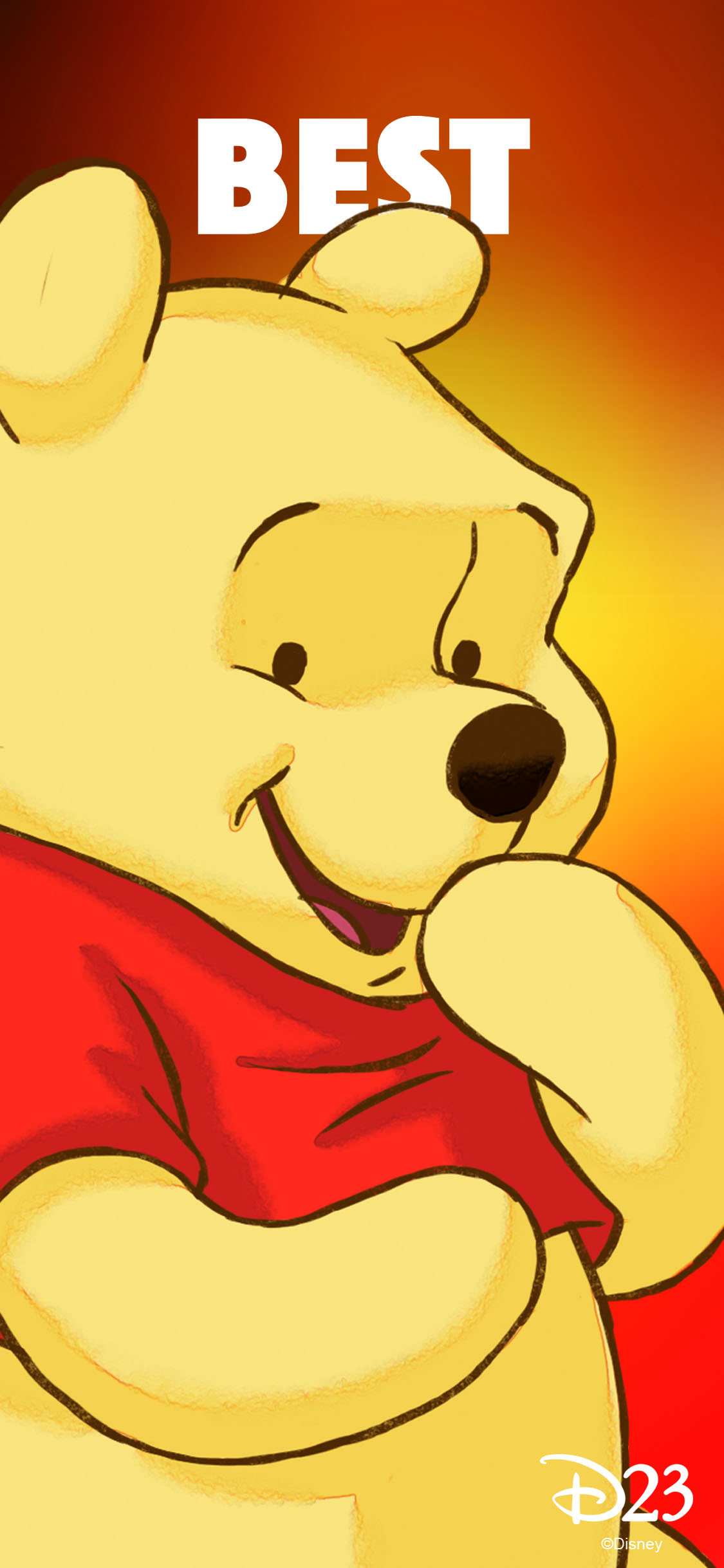 Best Friends phone wallpaper - Pooh