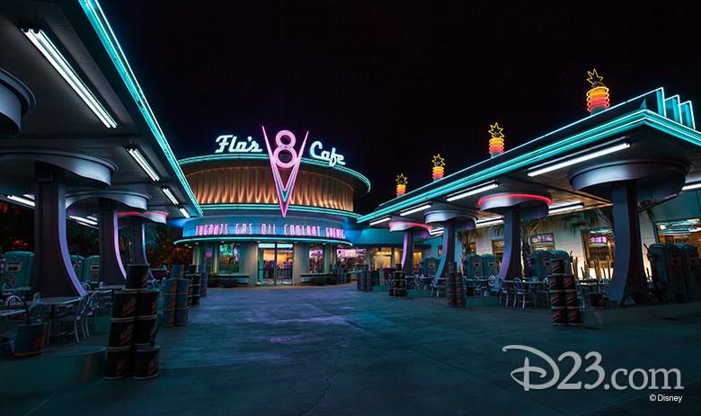 Flo's V8 Cafe - non-dairy treats at Disney Parks