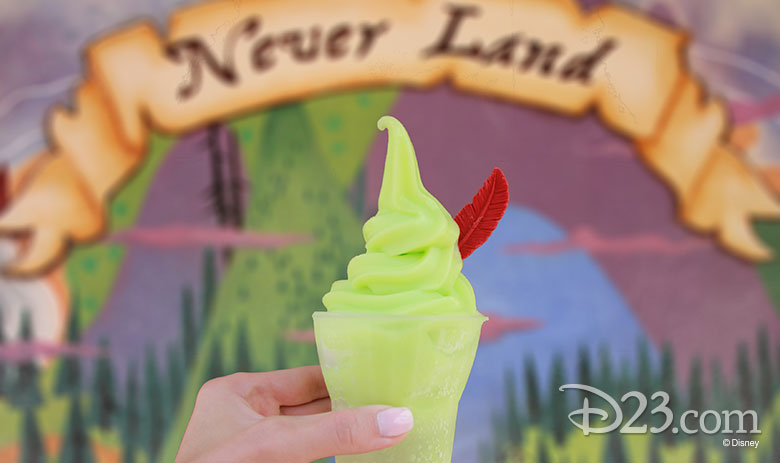 Peter Pan Float - non-dairy treats at Disney Parks