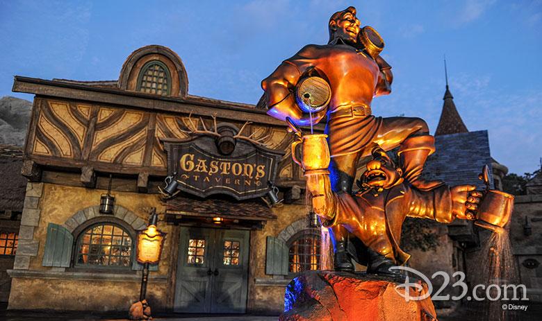 Gaston's Tavern - non-dairy treats at Disney Parks