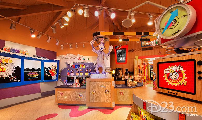 Goofy's Candy Company - non-dairy treats at Disney Parks