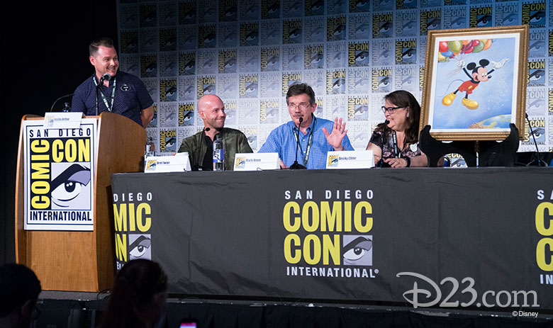 Mickey Mouse Comic Con recap