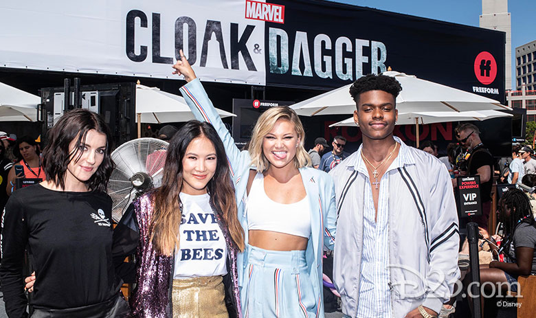 Cast of Marvel's Cloak & Dagger