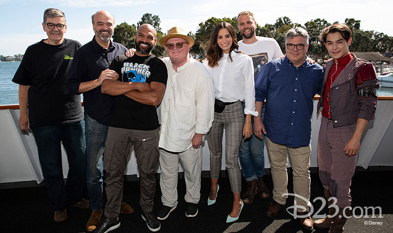 The cast of Big Hero 6 The series