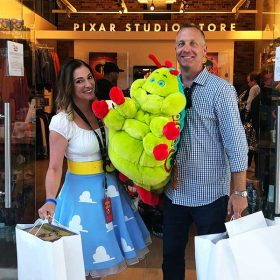 Pixar studio tour event