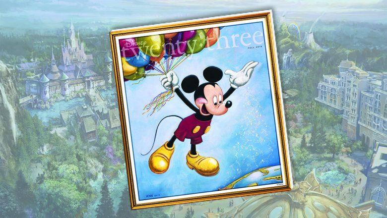 Disney twenty-three Fall 2018 issue cover