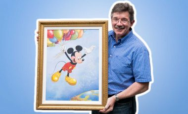 You Need to See Mark Henn Create His Amazing Mickey Portrait