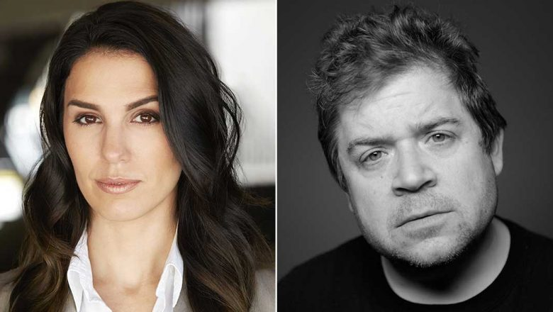 Christy Carlson Romano and Patton Oswalt