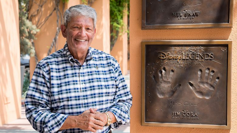 Disney Legend Jim Cora