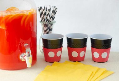 D23 Party Kit Mickey Party Punch recipe