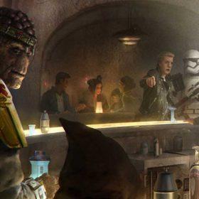 Star Wars: Galaxy's Edge cantina