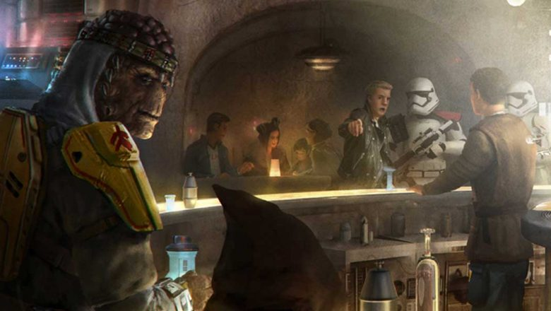 Star Wars: Galaxy's Edge cantina