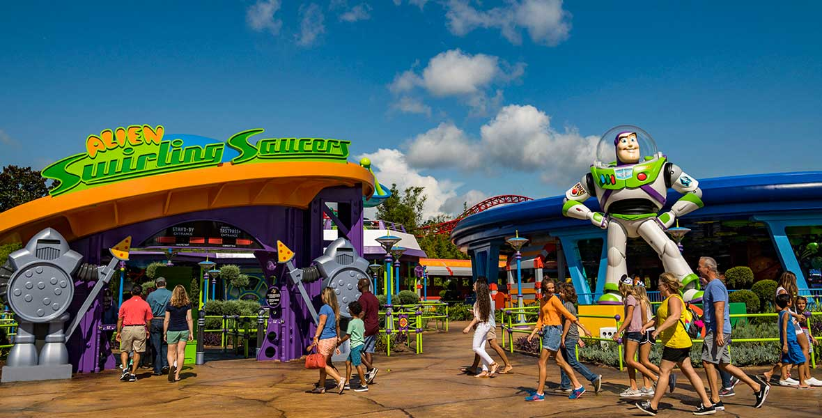 a to z alien swirling saucers