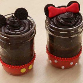 disney family cake jars