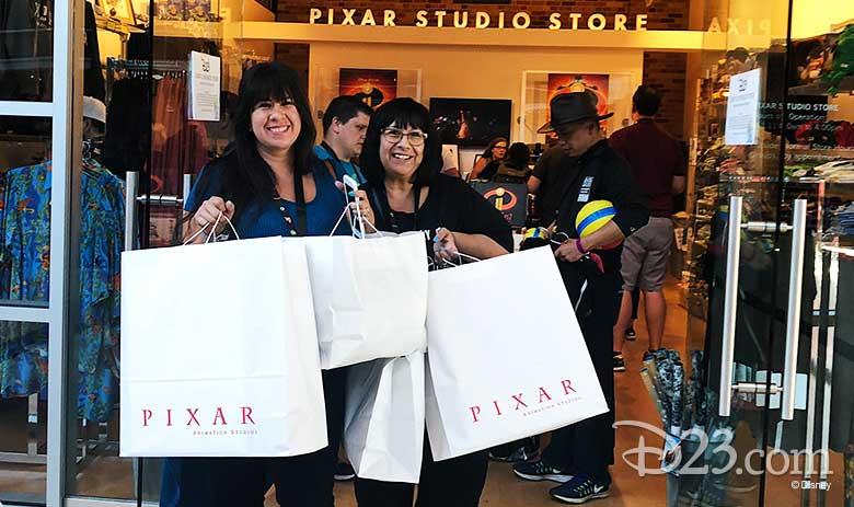 Pixar studio tour event