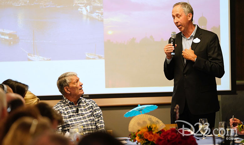 Jim Cora Lunch with a Disney Legend event