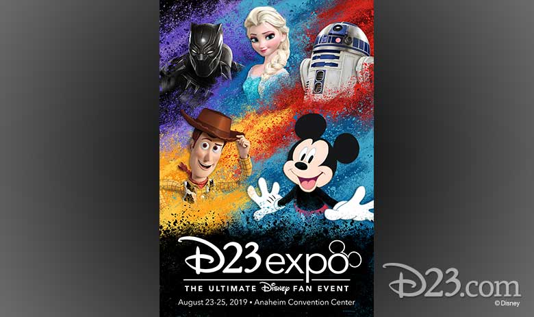 D23 Expo 2019 poster