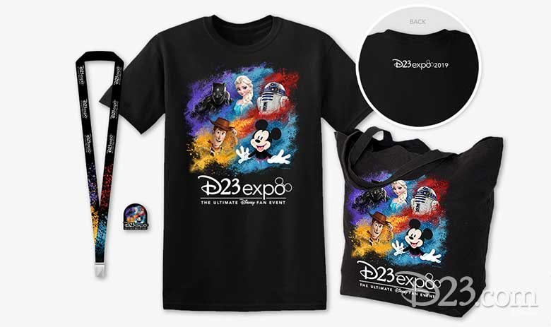 D23 Expo 2019 merch