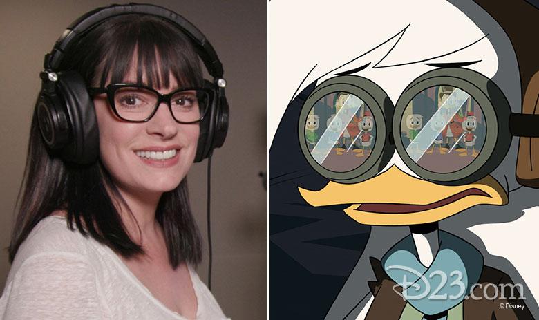 Paget Brewster (<em>Criminal Minds</em>) has originated the voice of Della Duck
