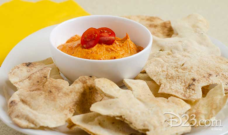 D23 Party Kit recipe Mickey's Party Food