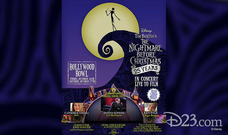 Nightmare Before Christmas Presale Code 2020 D23 Members Get Early Bird Tickets for the Hollywood Bowl's Live