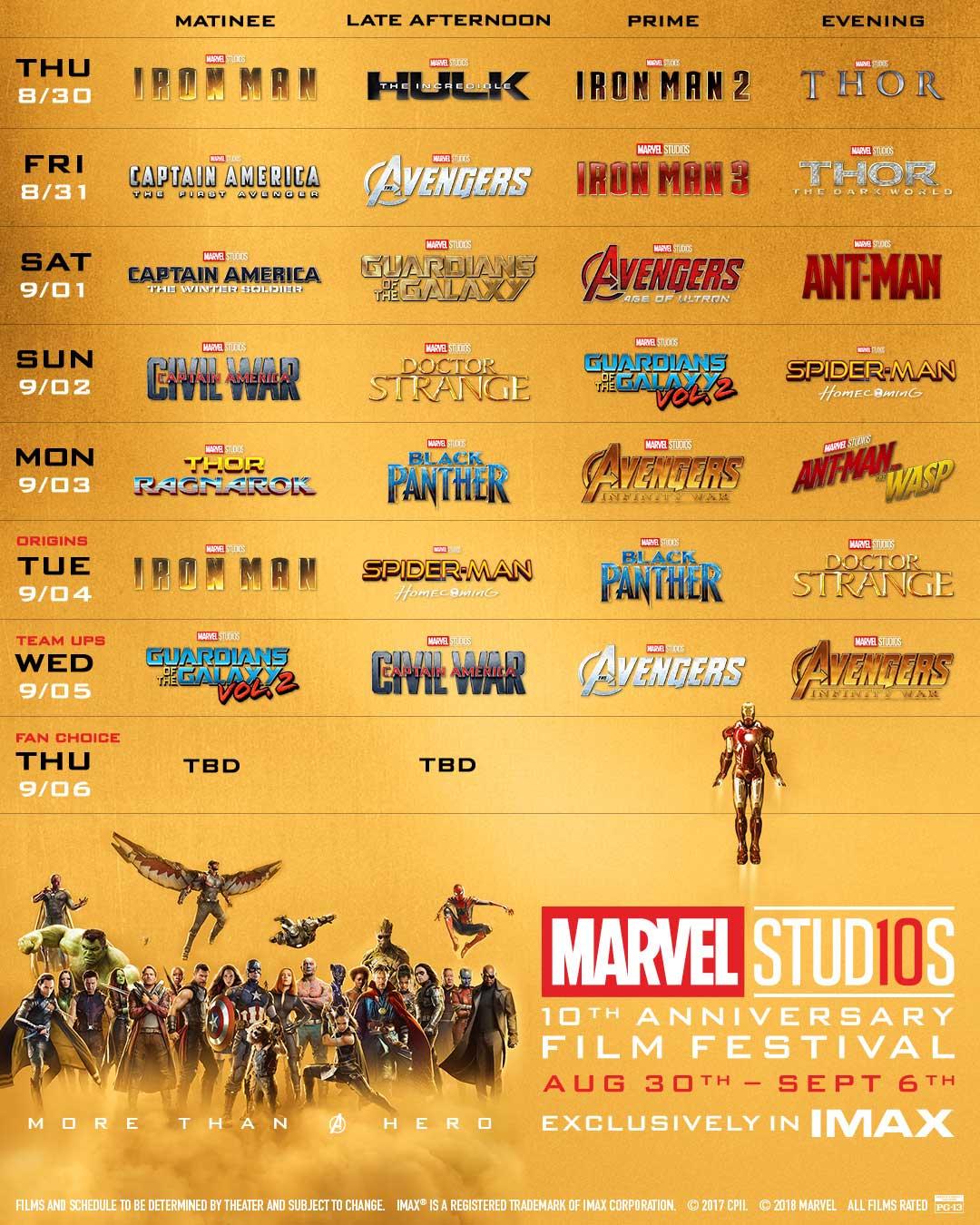 Marvel Studios Film Festival