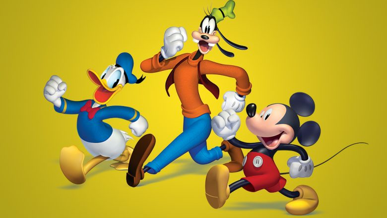 Mickey and friends