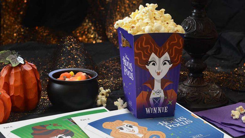 Hocus Pocus popcorn boxes