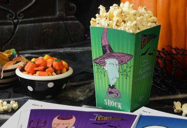 Nightmare Before Christmas popcorn boxes