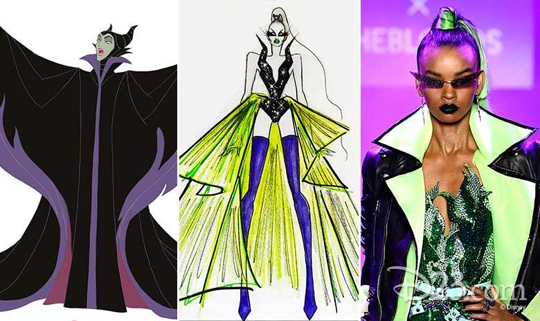 Disney Villains x The Blonds Fashion Show