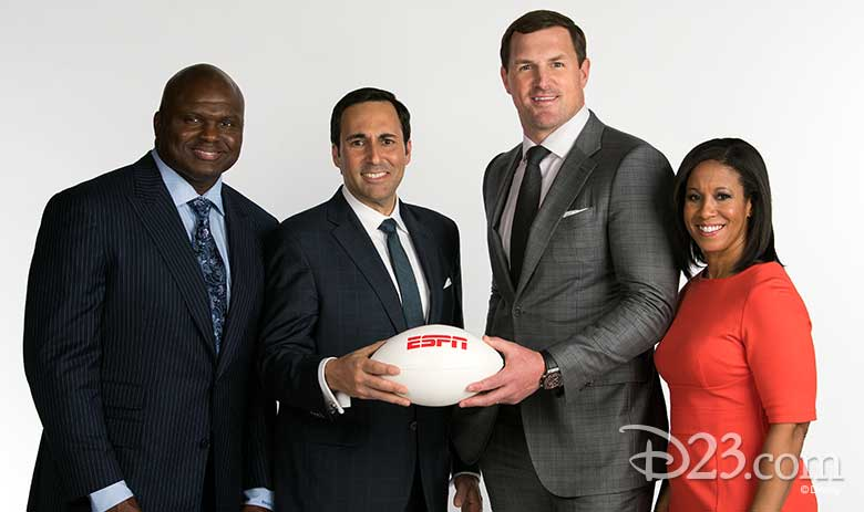 Espn Takes Monday Night Football To An All New Level D23